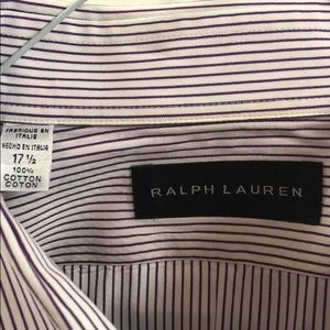 Ralph Lauren Black Label men's dress shirt